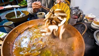 Video Chinese Food - YELLOW BEEF Hot Pot and Hot CHILI OIL RECIPE! | Yunnan, China Day 3 MP3, 3GP, MP4, WEBM, AVI, FLV Desember 2018