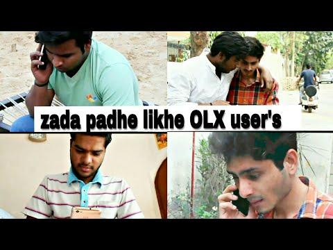 Zada padhe likhe OLX user's  OLX bechde  FAB 4
