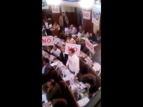 Intervención en Asamblea para voto nominal 4:00 a.m.
