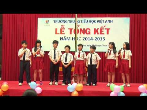 [VIET ANH SCHOOL] - LỄ TỔNG KẾT NĂM HỌC 2014 - 2015 - MÙA HÈ DẤU YÊU