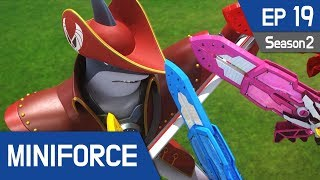 Video Miniforce Season2 EP19 Shaku, the Pirate King Pt  1 (English Ver) MP3, 3GP, MP4, WEBM, AVI, FLV September 2018