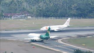 Video Take Off Boeing 737-200 My Indo Airlines dan Jayawijaya Dirgantara di Bandara Sentani Kota Jayapura MP3, 3GP, MP4, WEBM, AVI, FLV Desember 2018