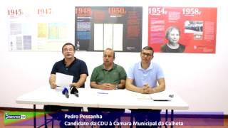 Pedro Pessanha é o candidato