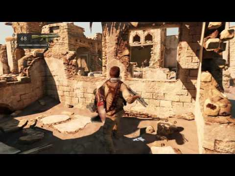 Drake's Deception - Visit http://www.coin-op.tv for more video game interviews and reviews! UNCHARTED 3 Drake's Deception Official Gameplay Desert Village http://www.twitter.com...