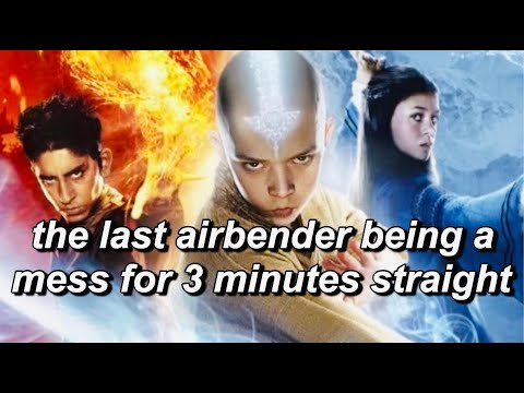 The Last Airbender being a mess for 3 minutes straight (worst moments) (avatar movie)