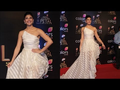 Jacqueline Fernandez At Colors Golden Petal Awards 2017