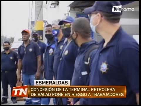 Concesión de la terminal petrolera de Balao pone en riesgo a trabajadores
