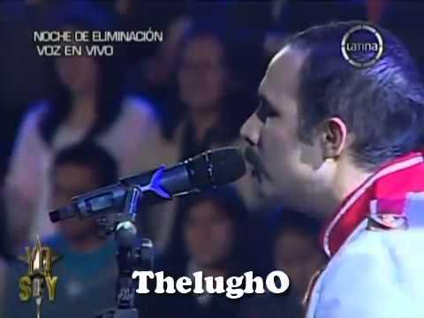 """Yo Soy 17-07-13 FREDDIE MERCURY """"Love Of My Life"""" [Mauricio Soto] Yo Soy 2013 Gala de Eliminacion"""