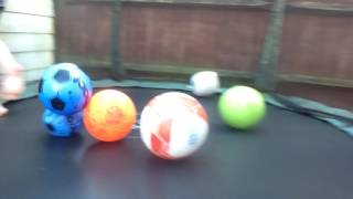 Try not to touch the balls challenge (Wegie fam)