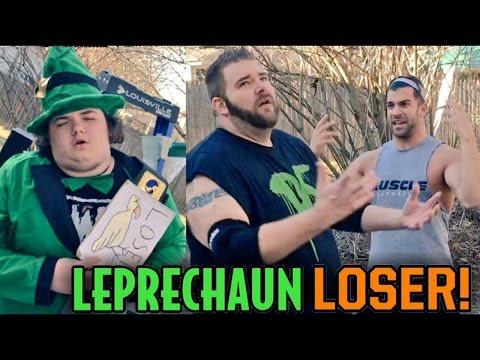 LOSER IS A LEPRECHAUN MATCH VS CRINGIEST KID IN WRESTLING EVER (CURT HAWKINS BROTHER?)