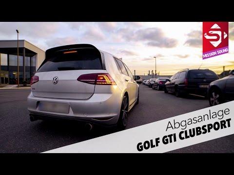 Golf GTI Clubsport | Abgasanlage | Sidney Industries