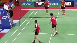 Video HD Kevin Sanjaya S  Markus F Gideon vs Goh V Shem Tan Wee Kiong   Badminton SF India Open SS 2016 MP3, 3GP, MP4, WEBM, AVI, FLV Desember 2018