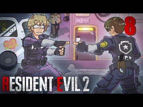 Resident Evil 2 Leon 'A' Walkthrough Part 8 - Ada Vs. Annette
