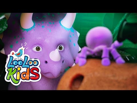 Rain, Rain, Go Away (Dinosaurs) - THE BEST Songs for Children | LooLoo Kids