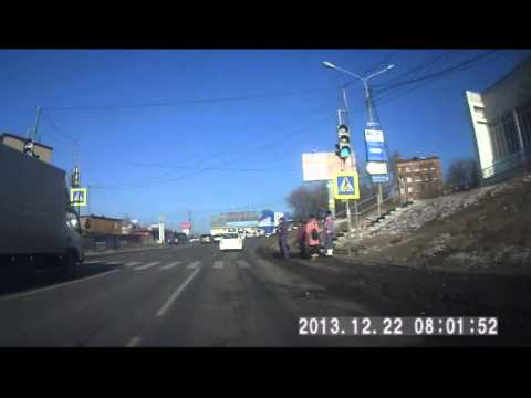 Владивосток, Баляева 22.12.2013 (видео)