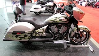 1. 2014 Victory Cross Country with Factory Custom Paint - Walkaround - 2014 Toronto Motorcyle Show