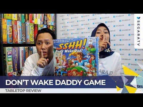 SSHH! AWAS BANGUN! Don't Wake Daddy Board Game [SEGARA TV]