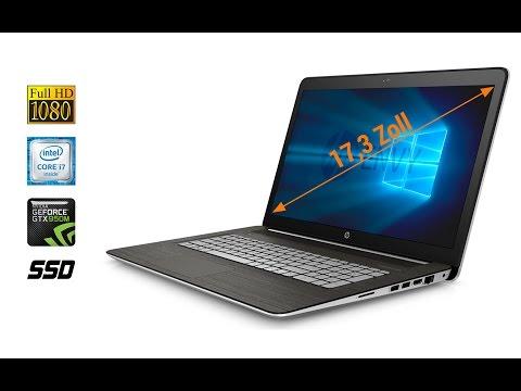 HP Envy 17-n107ng  Hands On Test - Deutsch / German ►► notebooksbilliger.de