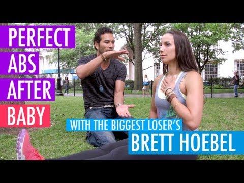 BEST Abs Exercises for Pregnancy & Diastasis Recti – Biggest Loser Trainer Brett Hoebel – BEXLIFE