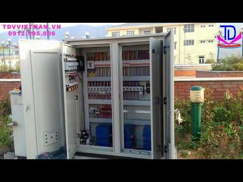 Đấu nối lắp đặt tủ điện điều khiển đài phun nước, nhạc nước