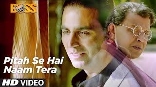 Pitah Se Naam Hai Tera Full Video Song Boss Hindi Movie 2013  Akshay Kumar