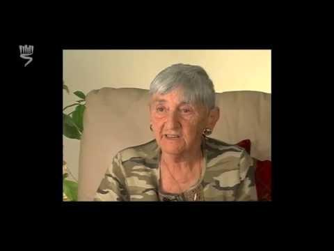 ניצולת שואה מהעיר נדבורנה שבפולין, מספרת על רצח אמה ואחותה