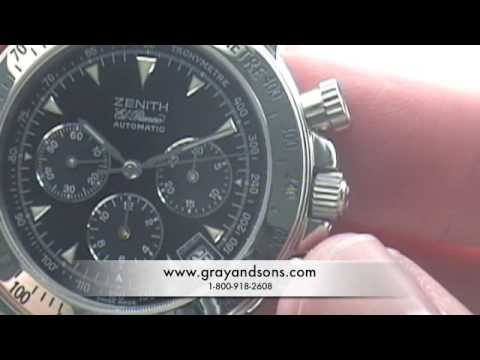 watches - Rich from http://www.grayandsons.com teaches how to read a tachymeter watch bezel. Gray & Sons Jewelers specializes in buying & selling fine preowned watches...