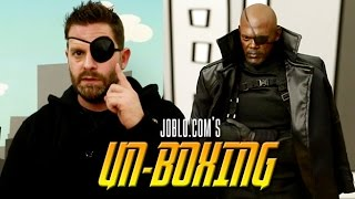 Nick Fury - JoBlo Unboxing, Sideshow Collectibles, Hot Toys, Sixth Scale Figure by JoBlo Movie Trailers