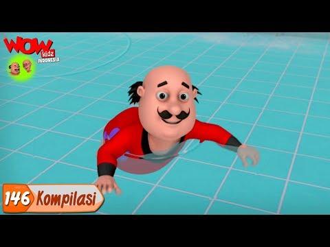 Motu Patlu dalam Bahasa | 3D Animasi Kartun untuk anak-anak | Kompilasi - 146 | WowKidz Indonesia