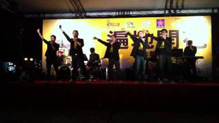 2011年4月3日選民力量於人民力量起動大會的表演-世界上唯一的花 .