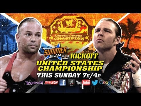 summerslam - The Biggest Party of the Summer just got even bigger, as United States Champion Dean Ambrose will face Rob Van Dam on the free hour-long SummerSlam Kickoff, streaming live this Sunday at 7...