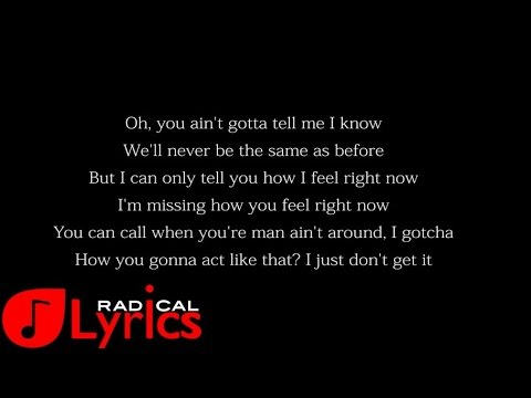Trey Songz ft Pusha T - How Could You Forget LYRICS