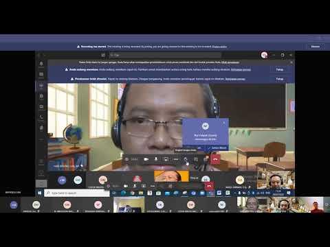 Webinar Microsoft Office 365 || Microsoft Teams || Kelas Jateng  Hari ke 1