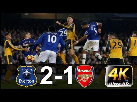 Everton vs Arsenal 2 1   All Goals & Extended Highlights   EPL 13 12 2016 HD