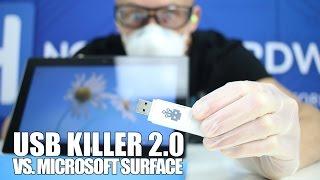 USB Killer 2.0 vs. Microsoft Surface - Killing a PC in seconds