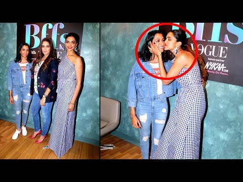 Deepika & Her Sister Anisha Padukone Visit Colors Infiniti Set Bffs