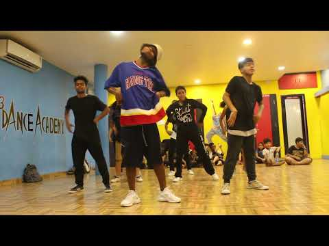 Where the hood at-DMX||Hip-hop workshop|| SDFC|| 2k18 Choreographed by Dileshwar Hessa||Hd Video