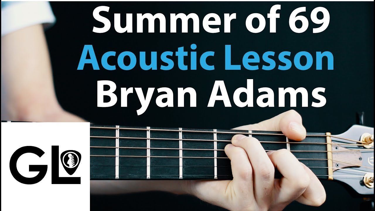 Summer of 69: Bryan Adams Acoustic Guitar Lesson EASY