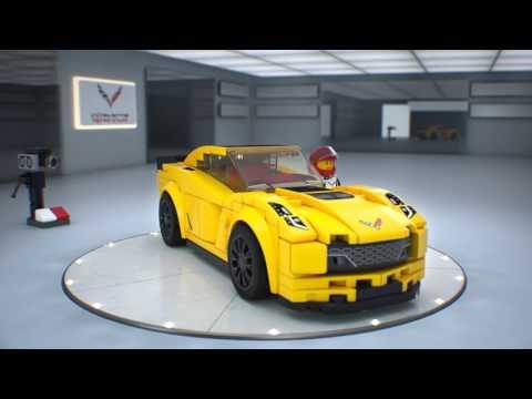 Конструктор Chevrolet Corvette Z06 - LEGO SPEED CHAMPIONS - фото № 6
