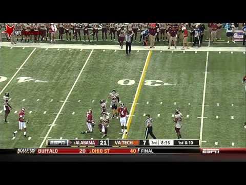 Amari Cooper vs Virginia Tech 2013 video.