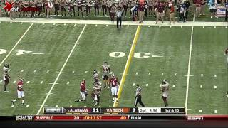 Amari Cooper vs Virginia Tech (2013)