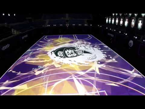 Nike RISE   House of Mamba LED Basketball Court | Video