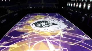 Introducing the Nike RISE 'House of Mamba' LED court - YouTube