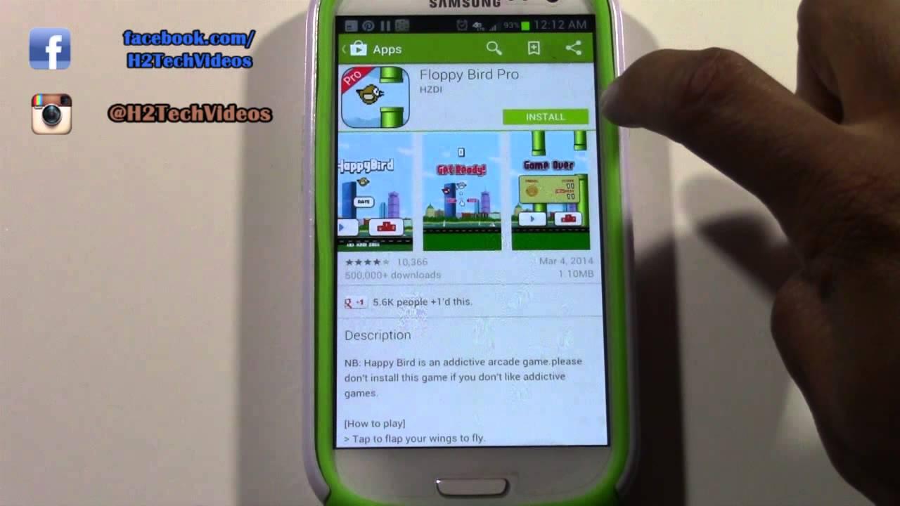 Descargar Galaxy S3 – How to Download Games & Apps para Celular  #Android