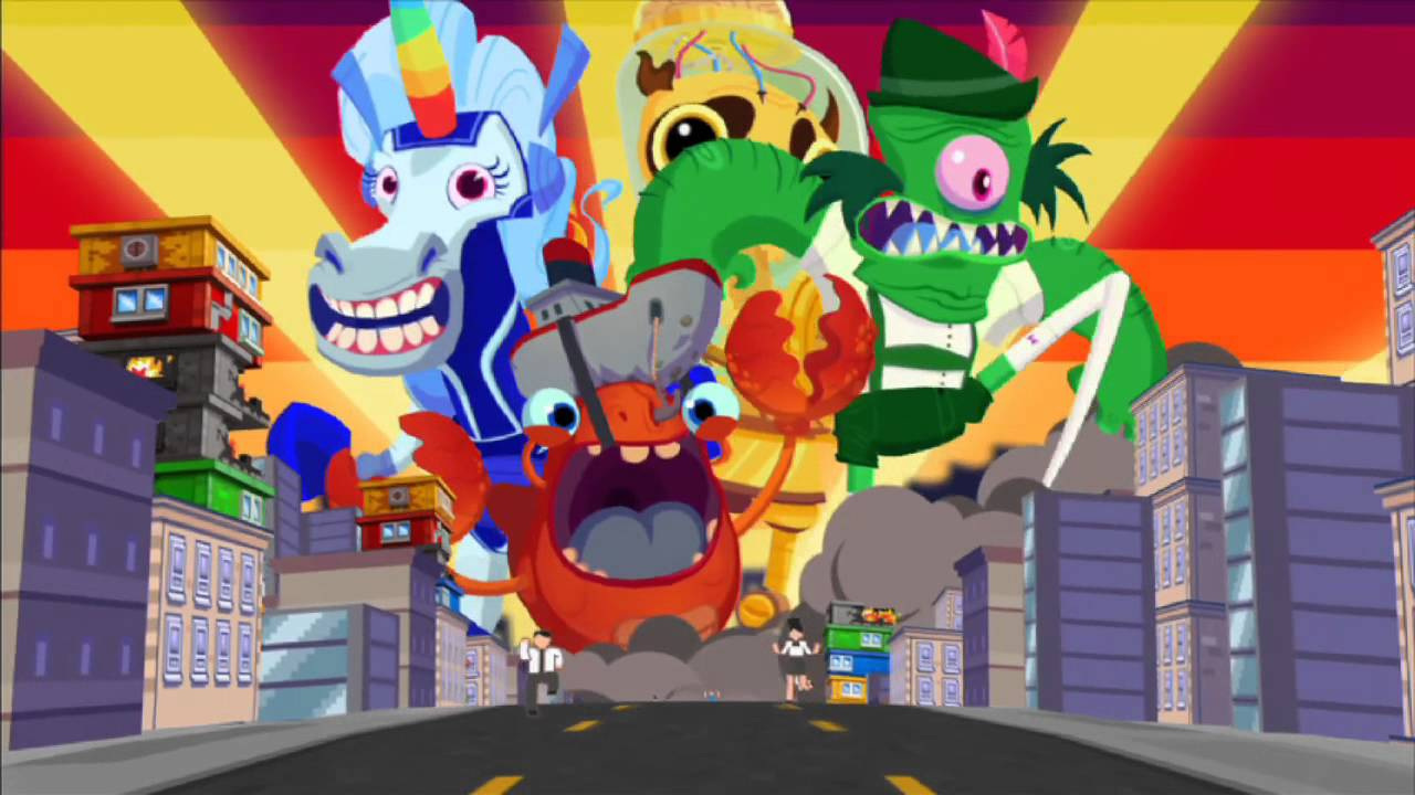 'Monsters Ate My Condo' Review -  Adult Swim Matches Three… With Monsters