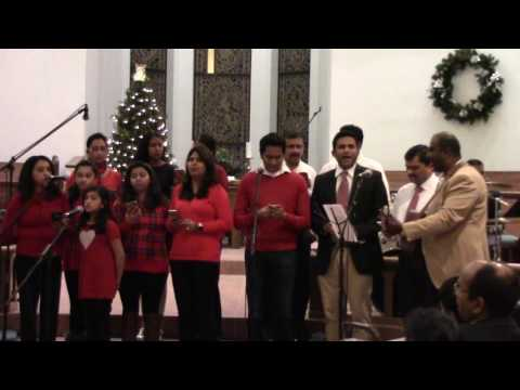 Corner Stone Church Performing At The Grand Indian Christmas Celebration 2016