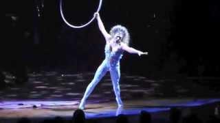Video Cirque du Soleil - Amaluna w/ Marie-Michelle Faber - Vocal aerial Hoop - Cerceau Chanté - Live MP3, 3GP, MP4, WEBM, AVI, FLV Januari 2019