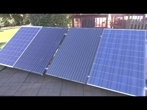 How to Solar Power Your Home #8 – Grid Tied System – Enphase M250 Microinverters – Pt1