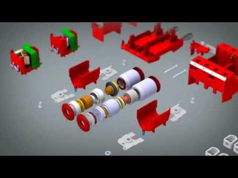 Комбинированные УЗИП (Класс I+II) DEHN+SOHNE для систем электроснабжения линейки RedLine TN-C, TN-S, TT и TN - видео.
