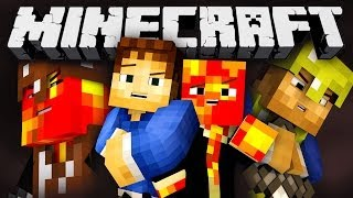 THE KNIGHTS OF HUNGER GAMES! (Minecraft Survival Games Classes with Preston and Woof!) #2